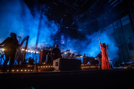 Florence And The Machine performing at Sasquatch 2016 at the Gorge Amphitheatre in George, Washington on May 30, 2016. (Photo: Matthew Lamb)