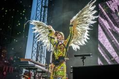 Sufjan Stevens performing at Sasquatch 2016 at the Gorge Amphitheatre in George, Washington on May 30, 2016. (Photo: Matthew Lamb)