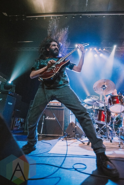 The Hallowed Catharsis performing at the Rickshaw Theatre in Vancouver on June 13, 2016. (Photo: Timothy Nguyen/Aesthetic Magazine)