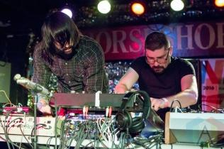 MSTRKRFT performing at the Horseshoe Tavern in Toronto on June 14, 2016 during NXNE 2016. (Photo: Katrina Lat/Aesthetic Magazine)