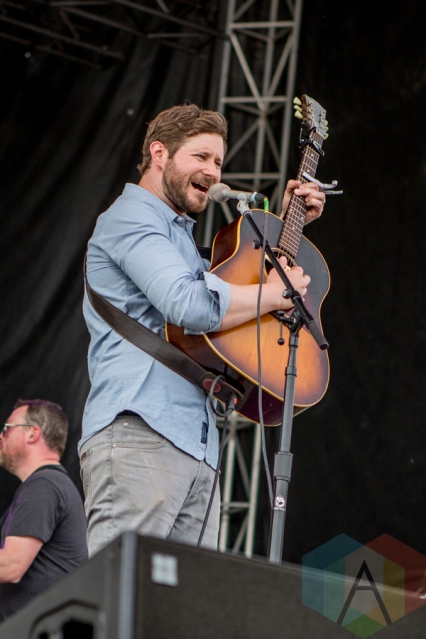 Dan Mangan performing at the Port Lands in Toronto on June 18, 2016 during NXNE 2016. (Photo: Katrina Lat/Aesthetic Magazine)