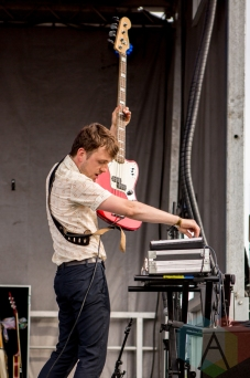 The Zolas performing at the Port Lands in Toronto on June 18, 2016 during NXNE 2016. (Photo: Katrina Lat/Aesthetic Magazine)