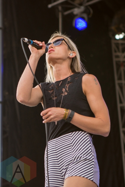 Mother Mother performing at the Port Lands in Toronto on June 18, 2016 during NXNE 2016. (Photo: Katrina Lat/Aesthetic Magazine)