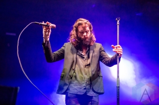 Father John Misty performing at the Port Lands in Toronto on June 18, 2016 during NXNE 2016. (Photo: Katrina Lat/Aesthetic Magazine)