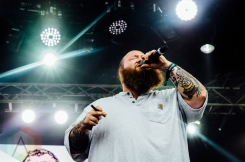 Action Bronson performing at Governors Ball 2016 in New York City on June 3, 2016. (Photo: Saidy Lopez/Aesthetic Magazine)
