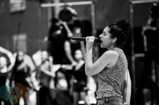 Alessia Cara rehearsing for the 2016 MMVAs on June 18, 2016. (Photo: Brandon Newfield/Aesthetic Magazine)