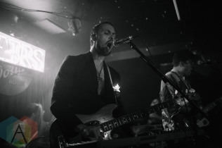 Future Peers performing at the Silver Dollar in Toronto on June 14, 2016 during NXNE 2016. (Photo: Amy Buck/Aesthetic Magazine)
