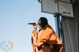 Tiken Jah Fakoly performing at the Port Lands in Toronto on June 17, 2016 during NXNE 2016. (Photo: Amy Buck/Aesthetic Magazine)
