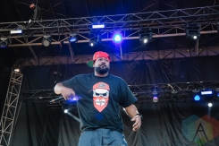 Ghostface Killah performing at the Port Lands in Toronto on June 17, 2016 during NXNE 2016. (Photo: Amy Buck/Aesthetic Magazine)