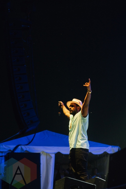 Schoolboy Q performing at the Port Lands in Toronto on June 17, 2016 during NXNE 2016. (Photo: Amy Buck/Aesthetic Magazine)
