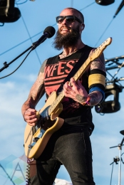 Baroness performing at Sasquatch 2016 at the Gorge Amphitheatre in George, Washington on May 30, 2016. (Photo: Kevin Tosh/Aesthetic Magazine)