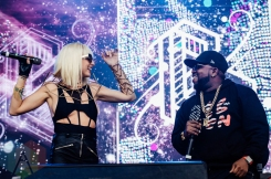 Big Grams performing at Governors Ball 2016 in New York City on June 3, 2016. (Photo: Saidy Lopez/Aesthetic Magazine)
