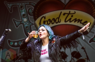 Elle King performing at Boston Calling 2016 at Boston City Hall Plaza in Boston on May 29th. (Photo: Saidy Lopez/Aesthetic Magazine)