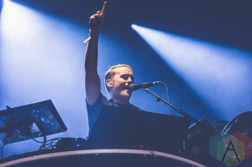 Disclosure performing at Boston Calling 2016 at Boston City Hall Plaza in Boston on May 29th. (Photo: Saidy Lopez/Aesthetic Magazine)