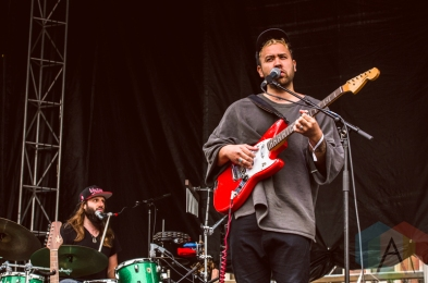 Unknown Mortal Orchestra performing at Boston Calling 2016 at Boston City Hall Plaza in Boston on May 29th. (Photo: Saidy Lopez/Aesthetic Magazine)