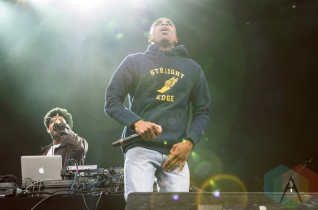 Vince Staples performing at Boston Calling 2016 at Boston City Hall Plaza in Boston on May 29th. (Photo: Saidy Lopez/Aesthetic Magazine)