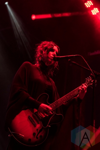 Chelsea Wolfe performing at Sasquatch 2016 at the Gorge Amphitheatre in George, Washington on May 30, 2016. (Photo: Kevin Tosh/Aesthetic Magazine)