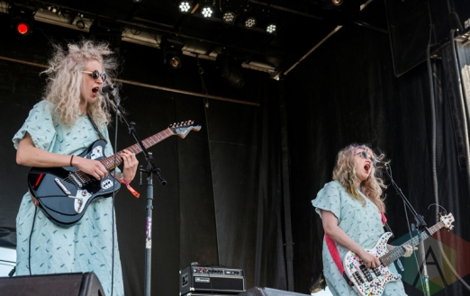 Childbirth performing at Sasquatch 2016 at the Gorge Amphitheatre in George, Washington on May 30, 2016. (Photo: Kevin Tosh/Aesthetic Magazine)