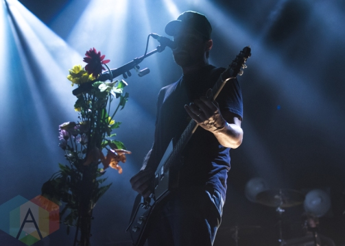 Brand New performing at Sound Academy in Toronto on June 9, 2016. (Photo: Anthony D'Elia/Aesthetic Magazine)