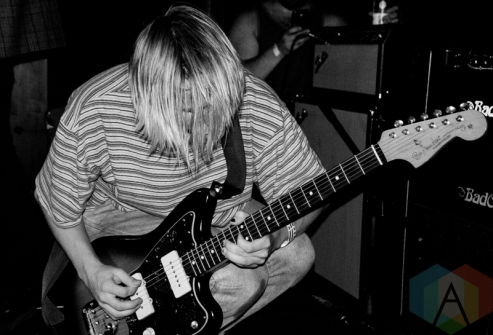 SWMRS performing at the Smiling Buddha in Toronto on June 22, 2016 (Photo: Steven Ellis/Aesthetic Magazine)