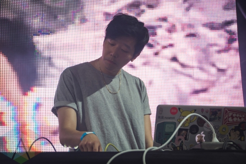Giraffage performing at Bestival Toronto 2016 on June 11, 2016. (Photo: Anthony D'Elia/Aesthetic Magazine)