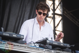 Jamie XX performing at Bestival Toronto 2016 on June 11, 2016. (Photo: Anthony D'Elia/Aesthetic Magazine)