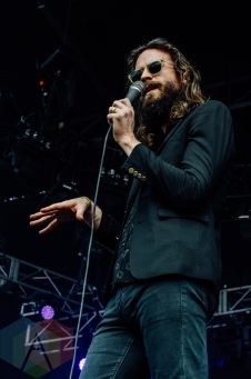 Father John Misty performing at Governors Ball 2016 in New York City on June 3, 2016. (Photo: Saidy Lopez/Aesthetic Magazine)