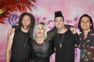 Marianas Trench backstage at the 2016 iHeartRadio MMVAs in Toronto on June 19, 2016. (Photo: Curtis Sindrey/Aesthetic Magazine)