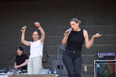 Heartstreets performing at Field Trip 2016 in Toronto on June 4, 2016. (Photo: Justin Roth/Aesthetic Magazine)