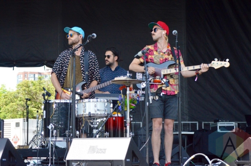 Most People performing at Field Trip 2016 in Toronto on June 4, 2016. (Photo: Justin Roth/Aesthetic Magazine)