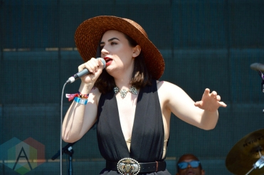 Meg Mac performing at Field Trip 2016 in Toronto on June 4, 2016. (Photo: Justin Roth/Aesthetic Magazine)