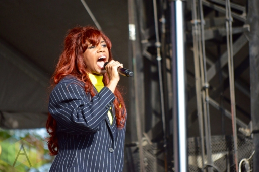 Santigold performing at Field Trip 2016 in Toronto on June 4, 2016. (Photo: Justin Roth/Aesthetic Magazine)