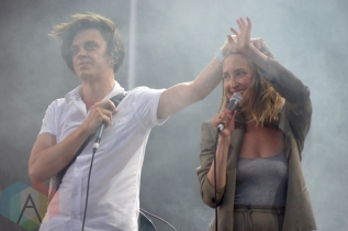 July Talk performing at Field Trip 2016 in Toronto on June 4, 2016. (Photo: Justin Roth/Aesthetic Magazine)