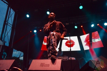 Jazz Cartier performing at Field Trip 2016 in Toronto on June 4, 2016. (Photo: Justin Roth/Aesthetic Magazine)