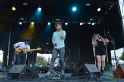 Ra Ra Riot performing at Field Trip 2016 in Toronto on June 5, 2016. (Photo: Justin Roth/Aesthetic Magazine)