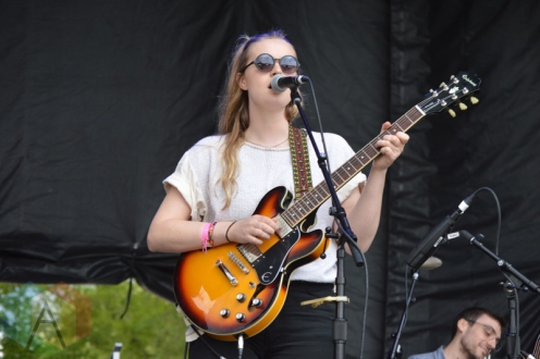 Charlotte Day Wilson performing at Field Trip 2016 in Toronto on June 5, 2016. (Photo: Justin Roth/Aesthetic Magazine)