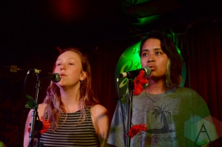 Veins performing at the Silver Dollar in Toronto on June 15, 2016 during NXNE 2016. (Photo: Justin Roth/Aesthetic Magazine)