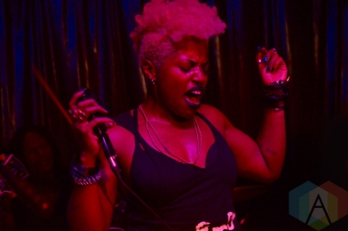 SATE performing at the Bovine Sex Club in Toronto on June 16, 2016 during NXNE 2016. (Photo: Justin Roth/Aesthetic Magazine)