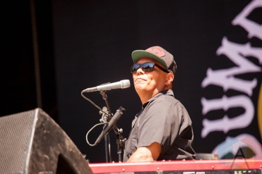 Dumpstaphunk performing at the Electric Forest Music Festival at the Double JJ Resort in Rothbury, Michigan on June 24, 2016. (Photo: Rob Harbaugh/Aesthetic Magazine)