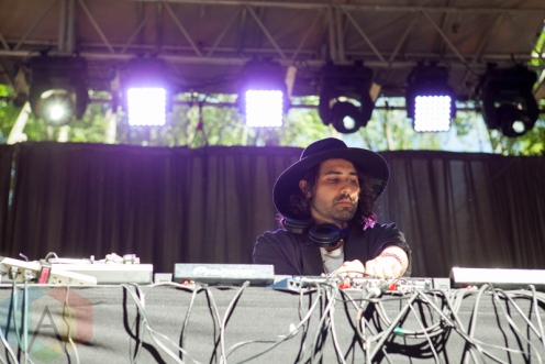 Navid Izadi performing at the Electric Forest Music Festival at the Double JJ Resort in Rothbury, Michigan on June 24, 2016. (Photo: Rob Harbaugh/Aesthetic Magazine)