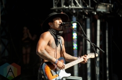 Nahko and the Medicine for the People performing at the Electric Forest Music Festival at the Double JJ Resort in Rothbury, Michigan on June 24, 2016. (Photo: Rob Harbaugh/Aesthetic Magazine)