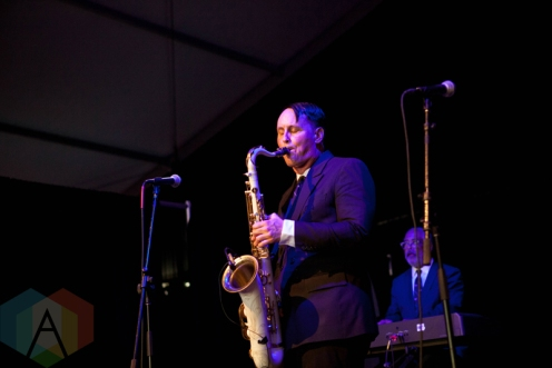 Preservation Hall Jazz Band for the People performing at the Electric Forest Music Festival at the Double JJ Resort in Rothbury, Michigan on June 24, 2016. (Photo: Rob Harbaugh/Aesthetic Magazine)