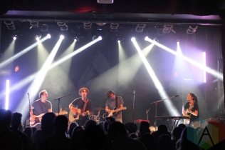 Valley performing at the Mod Club in Toronto on June 12, 2016. (Photo: John-Michael Lelievre/Aesthetic Magazine)