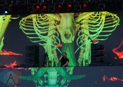 Skrillex performing at Ever After Festival 2016 on June 3, 2016. (Photo: Shahnoor Ijaz/Aesthetic Magazine)