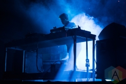 Jamie XX performing at Sasquatch 2016 at the Gorge Amphitheatre in George, Washington on May 30, 2016. (Photo: Kevin Tosh/Aesthetic Magazine)