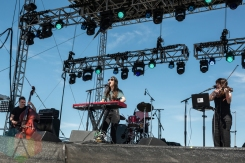 Julia Holter performing at Sasquatch 2016 at the Gorge Amphitheatre in George, Washington on May 30, 2016. (Photo: Kevin Tosh/Aesthetic Magazine)