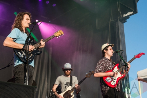 King Gizzard performing at Sasquatch 2016 at the Gorge Amphitheatre in George, Washington on May 30, 2016. (Photo: Kevin Tosh/Aesthetic Magazine)