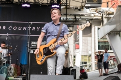 No King For Countrymen performing at Yonge-Dundas Square in Toronto on June 18, 2016 during NXNE 2016. (Photo: Kelsey Giesbrecht/Aesthetic Magazine)