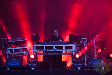 The Chemical Brothers performing at Parklife Festival 2016 on June 11, 2016. (Photo: Priti Shikotra/Aesthetic Magazine)