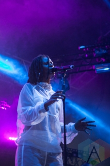 Kelela performing at Parklife Festival 2016 on June 12, 2016. (Photo: Priti Shikotra/Aesthetic Magazine)